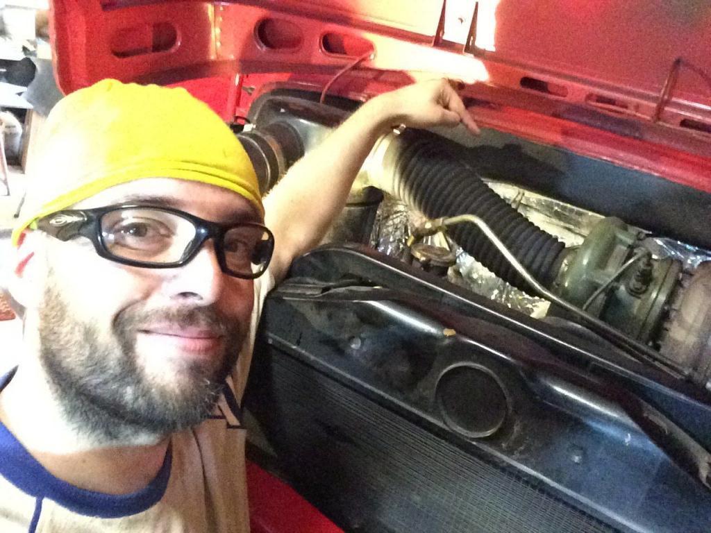 Dämmung im Motorraum