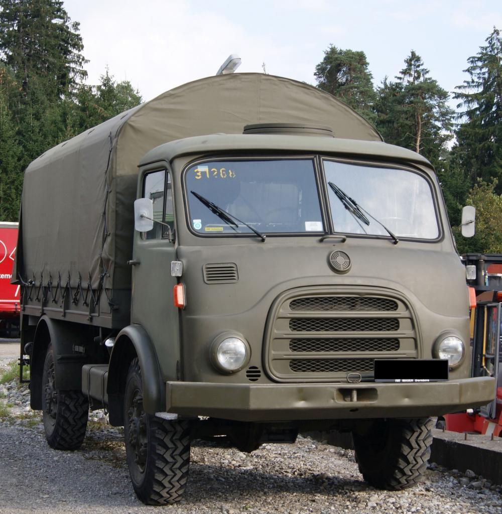 Ein Steyr 680 vom österreichischem Militär