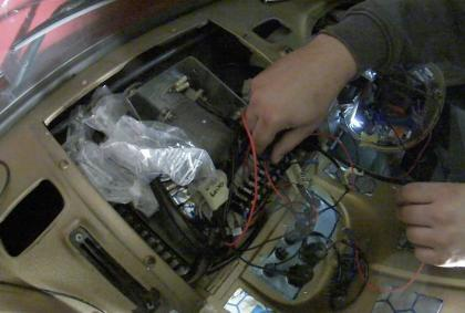 Wir pimpen die Elektrik des Kurzhaubers