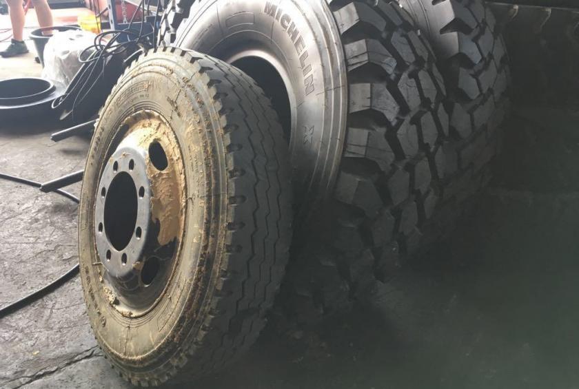 Neue Reifen für Klaus