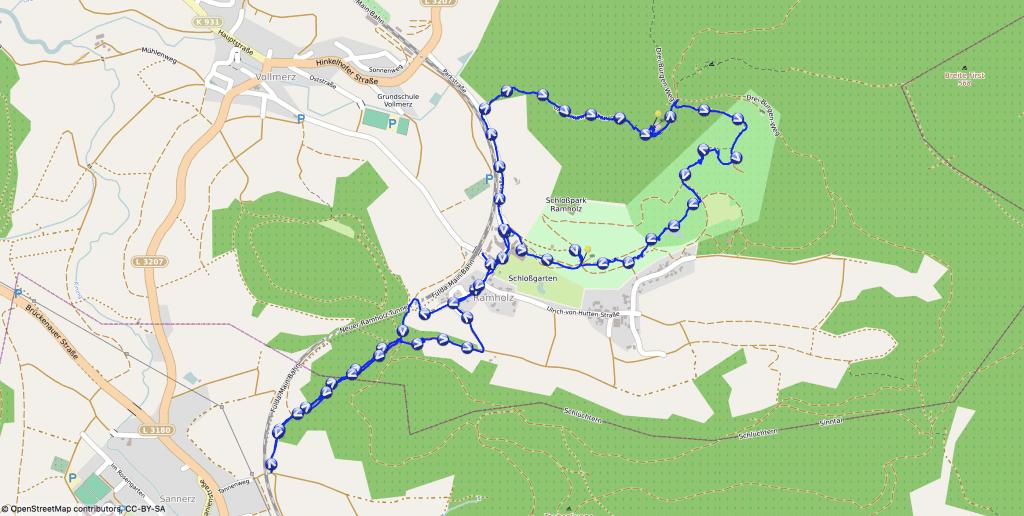 Karte - Auf zur Steckelburg