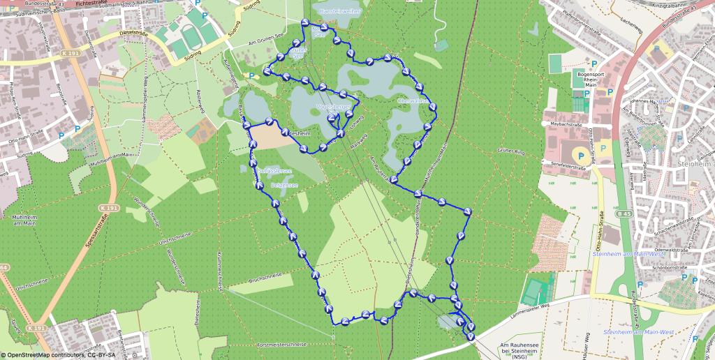 Wandern mit Nala - Die smaragdgrünen Seen