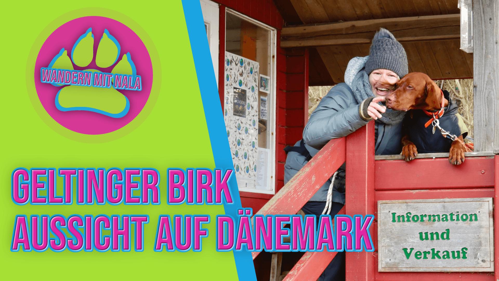 Wandern mit Nala - Geltinger Birk