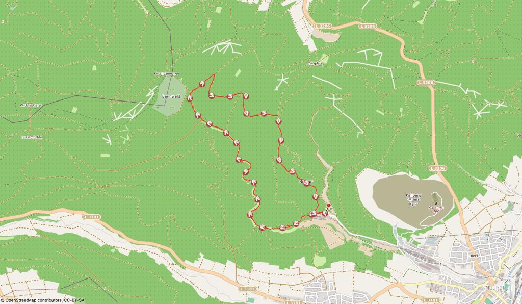 Wandern mit Nala - Bergbau am Kaliberg
