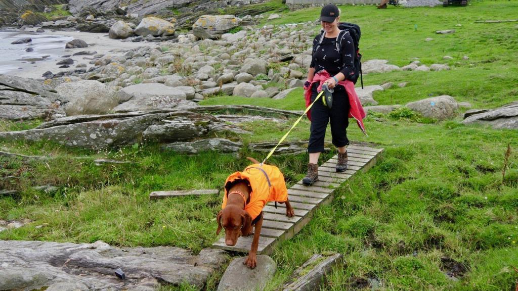 Unterwegs an der norwegischen Nordseeküste