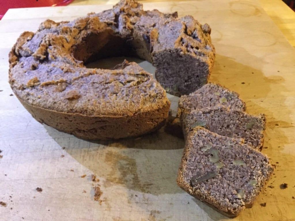 Walnuss Low Carb Brot aus dem Omnia Backofen
