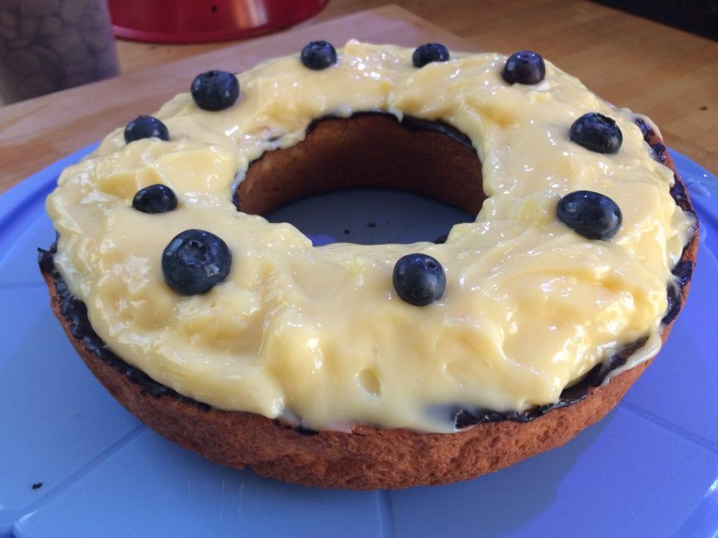 Rezept: Heidelbeer-Pudding-Kuchen aus dem Omnia