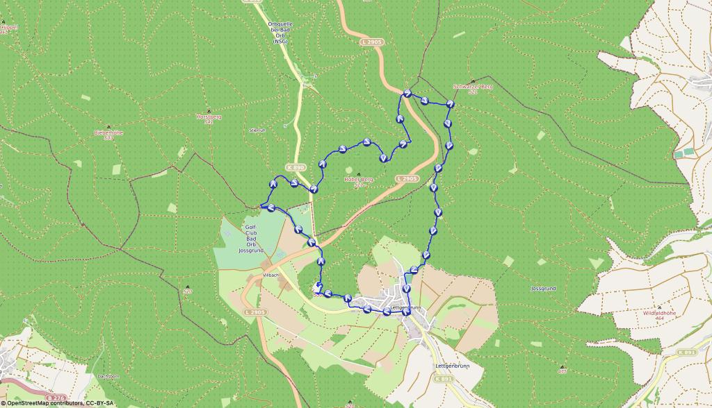 Wanderroute Bilstein, Bunker, Höhle und Bäume mit Namen