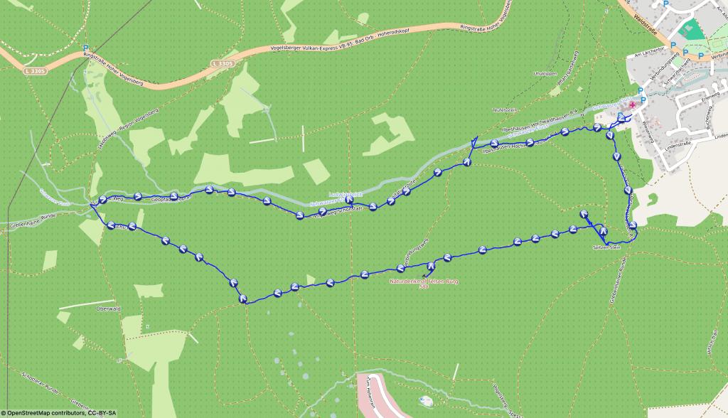 Wanderung auf dem Vulkan. Die Geologie rund um Ilbeshausen.