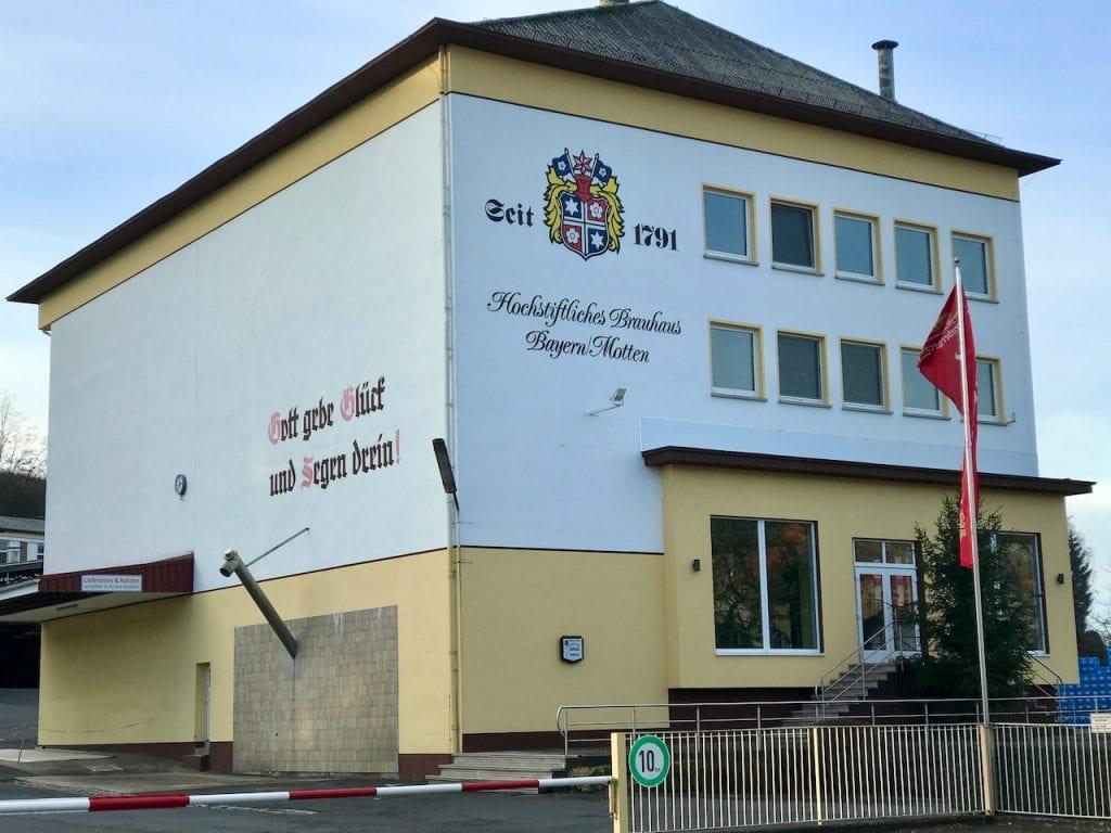 Die Will-Bräu Brauerei in Motten
