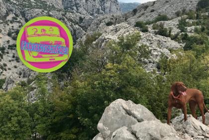 Auf Winnetous Spuren 🤠 – Paklenica Nationalpark – Kroatien 🇭🇷 – Mit dem Auto 🚗 durch den Balkan 04/09