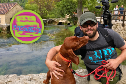 Wandern mit Hund im kroatischen Krka Nationalpark
