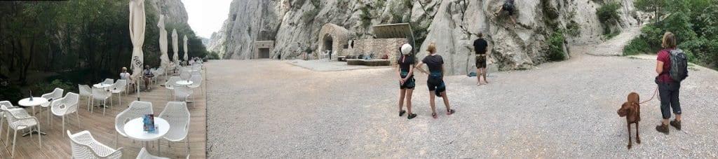 Winnetous Schlucht ist heute ein beliebter Touristenmagnet