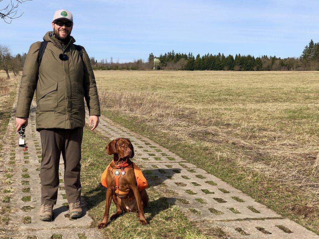 Grenzweg im Grünen Band. Ideal zum Wandern mit Hund