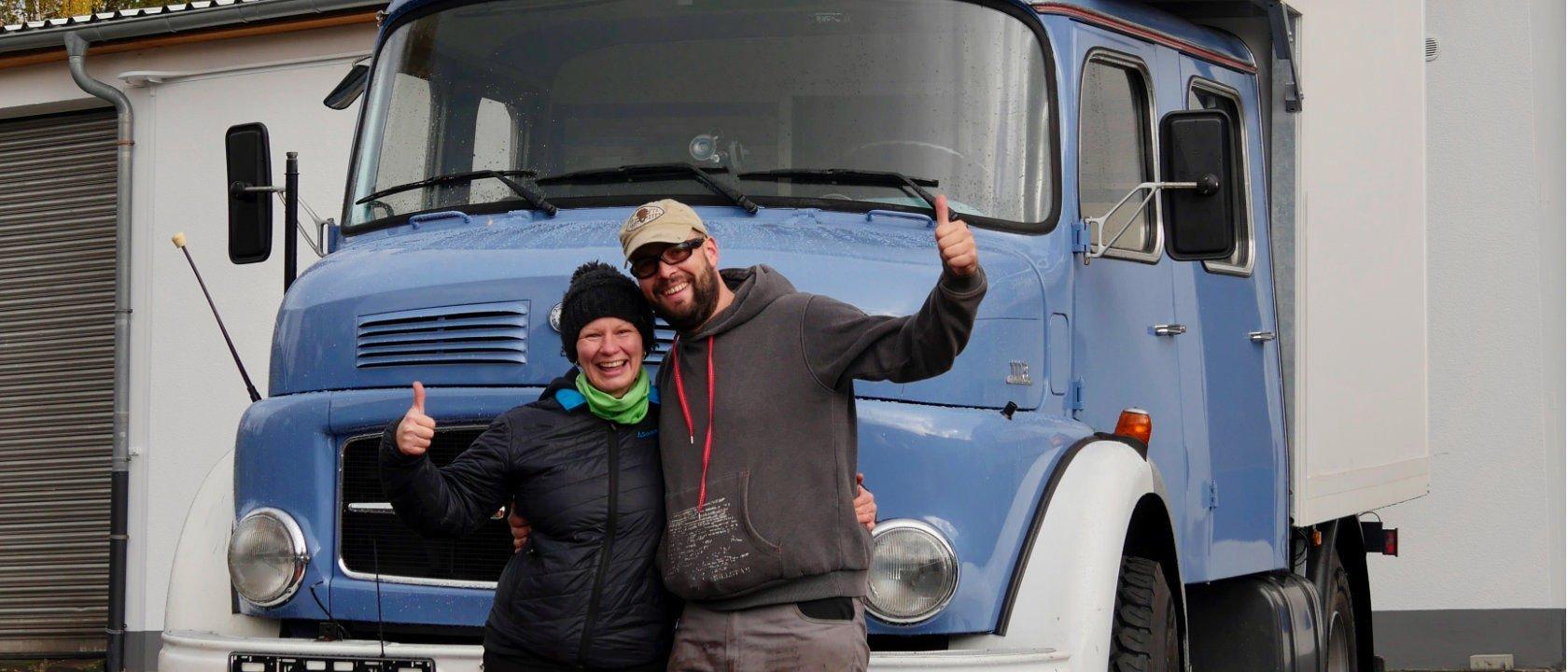 Der blaue Klaus - Unser Reisemobil