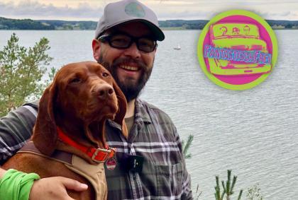 Mit Hund auf Usedom