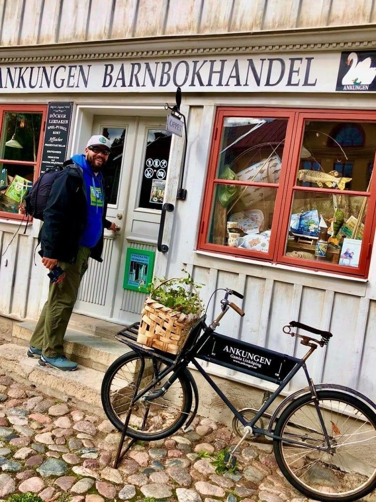 Kinderbuchhandlung in Gamla Linköping