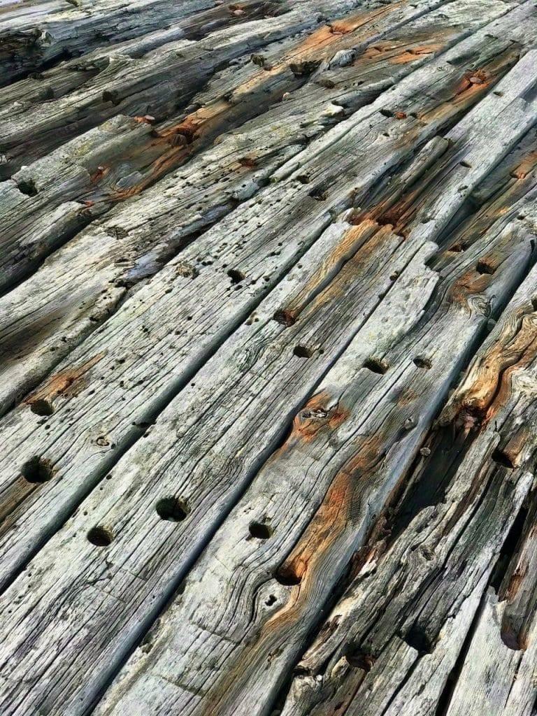 So schön kann 100 Jahre altes Holz sein - Schiffswrack Swiks