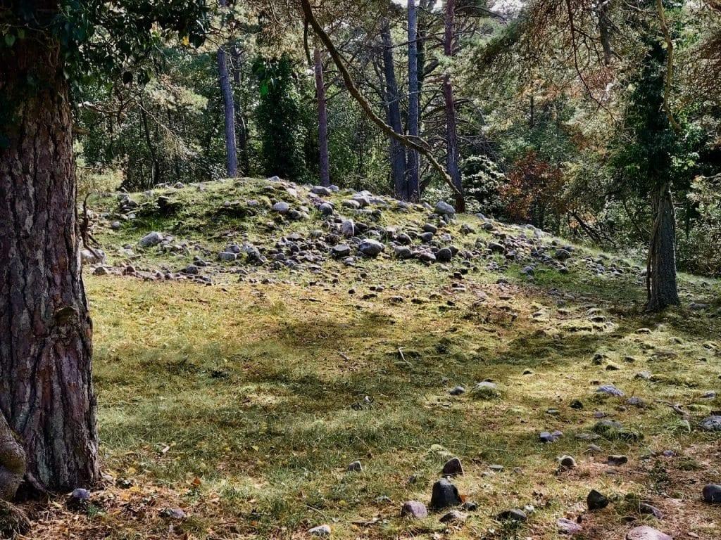 Die alten Grabstätten sind kaum noch zu erkennen