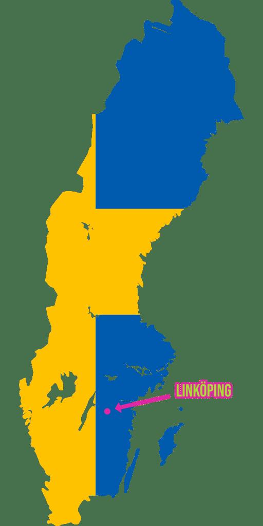Da liegt Linköping