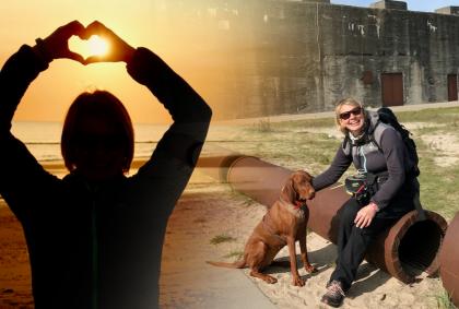 Tirpitz – Ein Mahnmal an Dänemarks Nordseeküste 🇩🇰 – Freiheitstour 2020 – Roadtrip mit Hund 🐕 [Video]
