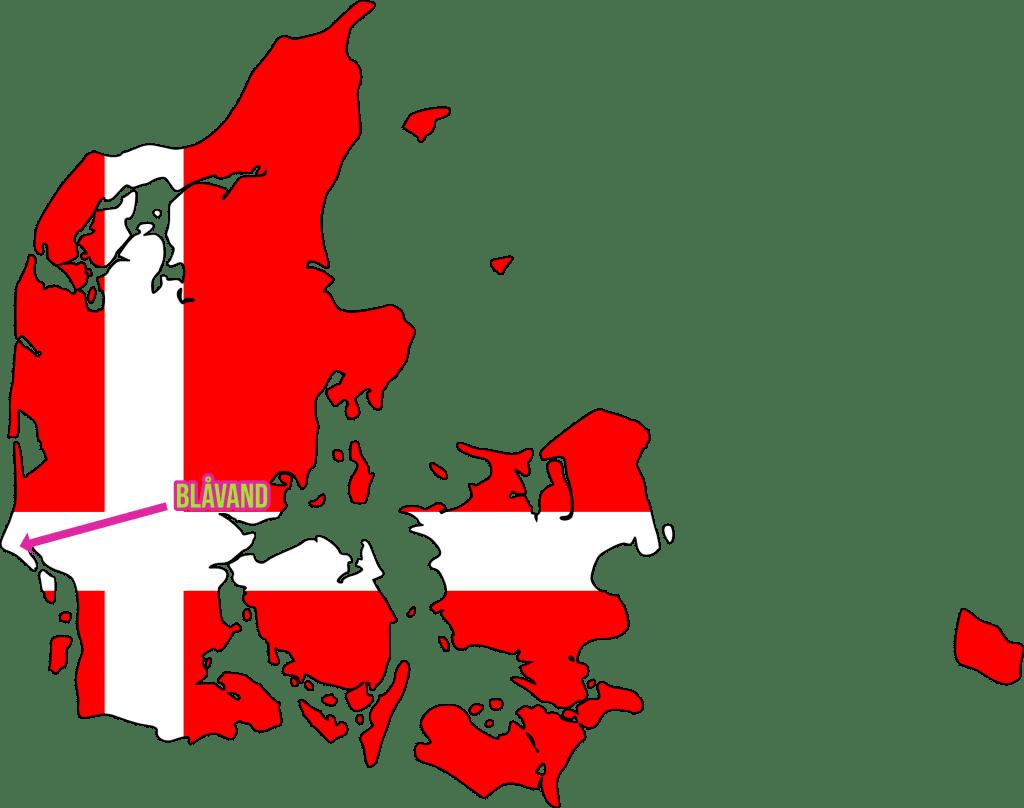 Blåvand liegt kurz vor dem westlichsten Punkt Dänemarks